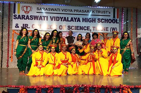 KIS - Inter – School teacher's group folk dance competition winners