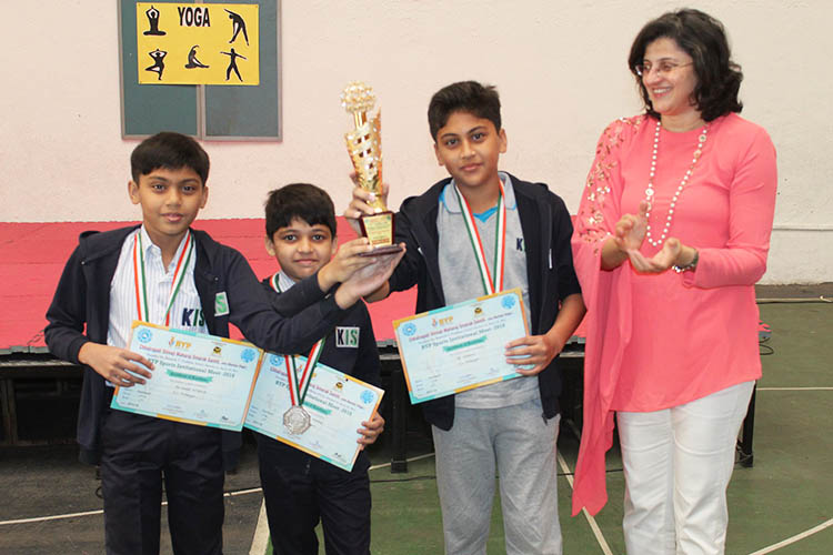 KIS - RYP football tournament Winners